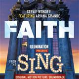 Download or print Stevie Wonder Faith (feat. Ariana Grande) Sheet Music Printable PDF -page score for Pop / arranged Piano, Vocal & Guitar (Right-Hand Melody) SKU: 178098.