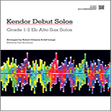 Download or print Strommen Kendor Debut Solos - Eb Alto Sax - Piano Accompaniment Sheet Music Printable PDF -page score for Unclassified / arranged Woodwind Solo SKU: 124990.
