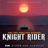 Download or print Stu Phillips Knight Rider Theme Sheet Music Printable PDF -page score for Film and TV / arranged Piano SKU: 50559.