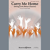 Download or print African-American Spiritual Carry Me Home (Swing Low, Sweet Chariot) (arr. Susan Thrift) Sheet Music Printable PDF -page score for Folk / arranged Choral TTB SKU: 160207.