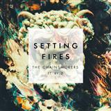 Download or print The Chainsmokers Setting Fires Sheet Music Printable PDF -page score for Pop / arranged Piano, Vocal & Guitar (Right-Hand Melody) SKU: 177282.