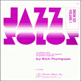 Download or print Thompson Jazz Solos For Drum Set, Volume 1 Sheet Music Printable PDF -page score for Unclassified / arranged Percussion SKU: 124875.