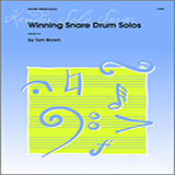 Download or print Tom Brown Winning Snare Drum Solos Sheet Music Printable PDF -page score for Unclassified / arranged Percussion SKU: 124885.