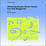 Download or print Tom Brown Winning Snare Drum Solos For The Beginner Sheet Music Printable PDF -page score for Unclassified / arranged Percussion SKU: 124882.