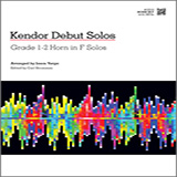 Download or print Varga Kendor Debut Solos - Horn in F Sheet Music Printable PDF -page score for Unclassified / arranged Brass Solo SKU: 124997.