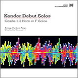 Download or print Varga Kendor Debut Solos - Horn in F - Piano Accompaniment Sheet Music Printable PDF -page score for Unclassified / arranged Brass Solo SKU: 124998.