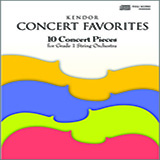 Download or print Various Kendor Concert Favorites - Full Score Sheet Music Printable PDF -page score for Unclassified / arranged String Ensemble SKU: 124767.
