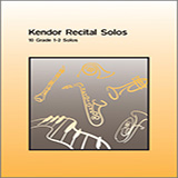 Download or print Various Kendor Recital Solos - Eb Alto Saxophone - Piano Accompaniment Sheet Music Printable PDF -page score for Unclassified / arranged Woodwind Solo SKU: 125039.