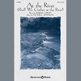 Download or print Victor Johnson At The River (Shall We Gather At The River) Sheet Music Printable PDF -page score for Hymn / arranged SATB SKU: 156981.