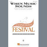 Download or print Victor C. Johnson When Music Sounds Sheet Music Printable PDF -page score for Concert / arranged TTBB SKU: 174230.